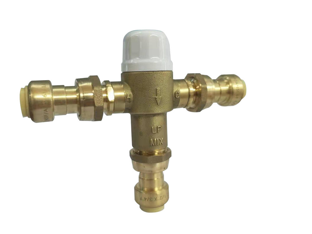 Thermostatic Mixing Valve W39-N1351 Push-Fit 1/2