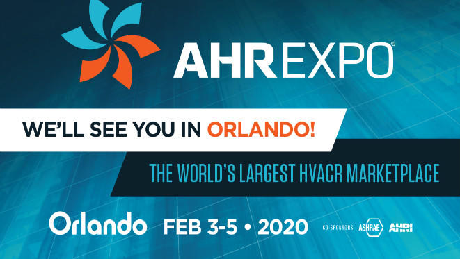 The International Air-Conditioning, Heating and Refrigeration Exposition(AHR 2020)