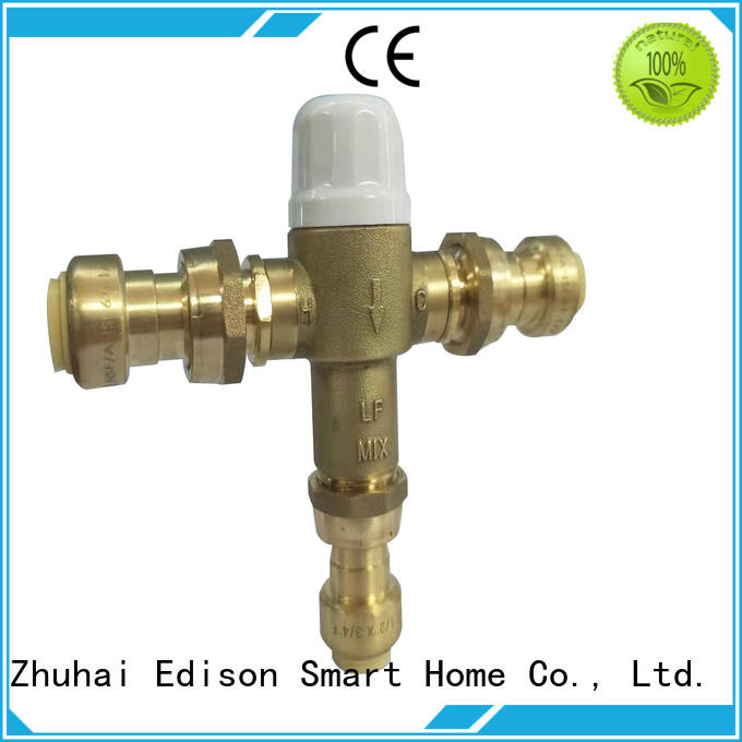 Edison quality thermostatic control valve manufacturer for shopping malls