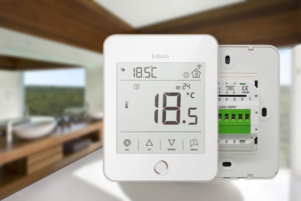 quickly heat only thermostat quality manufacturer for hardware store-1