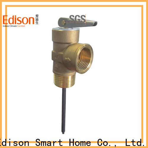 relief tp valve pressure supplier for water tanks