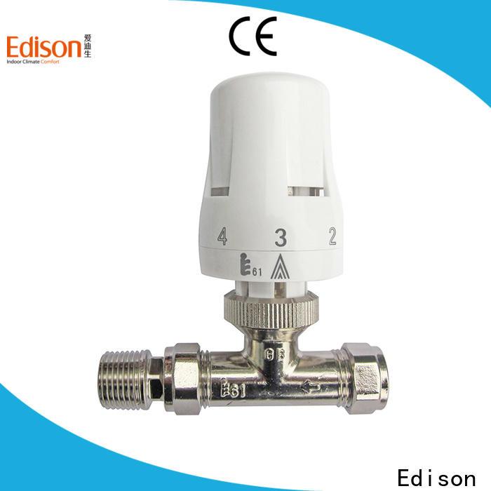 Edison durable steam radiator valve series for villas
