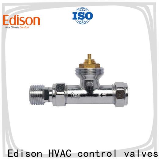 Edison twin radiator valve caps wholesale for villas