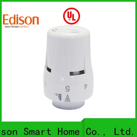 Edison twin trv radiator valves wholesale for apartments