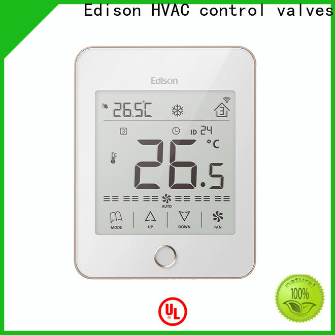 Edison touch home thermostat screen for larger family homes