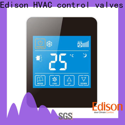 Edison touch wireless thermostat series for hotels