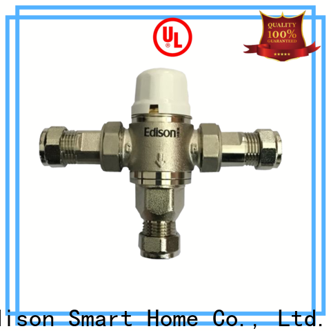 Edison valve tempering valve production for hotels