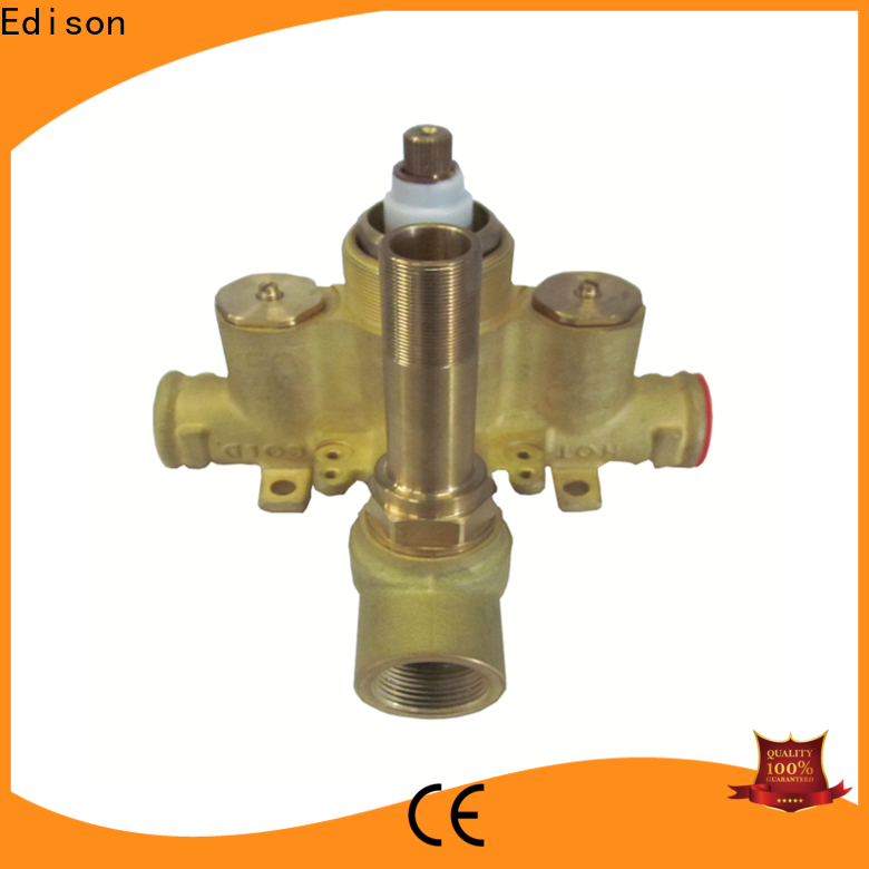 Edison high quality best thermostatic shower valve series for hardware store