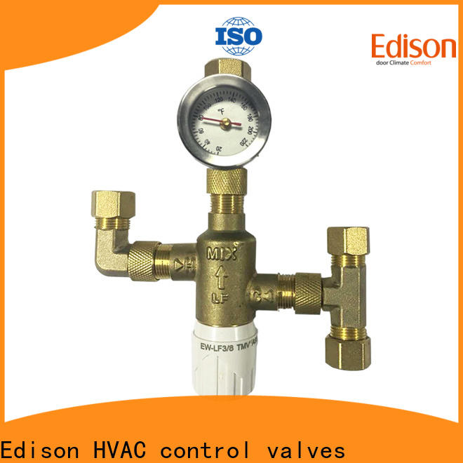 Edison solar thermostatic shower valve series for hardware store