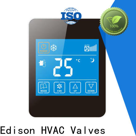 Edison screen wireless thermostat manufacturer for apartments