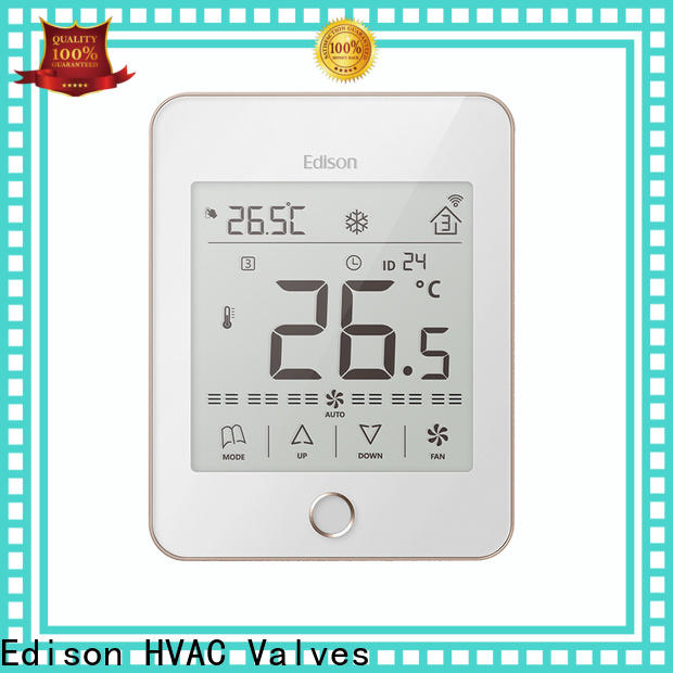 Edison thermostat room thermostat wholesale for shopping malls