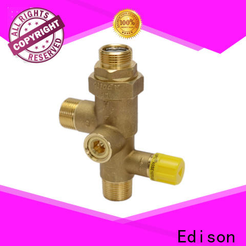Edison pex temperature mixing valve wholesale for shopping malls