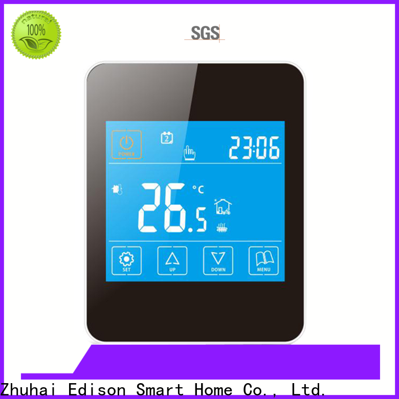 Edison high quality heating thermostat sale for electric heating control system