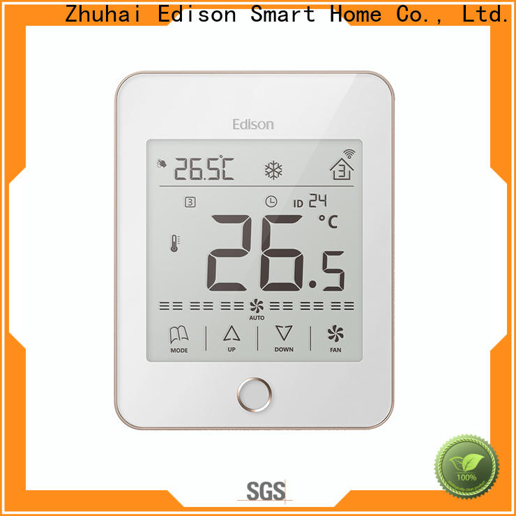 Edison high quality home thermostat screen for apartments