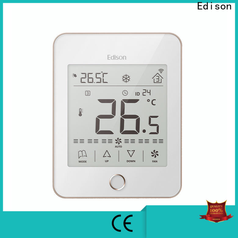 Edison touch wlan thermostat supplier for apartments