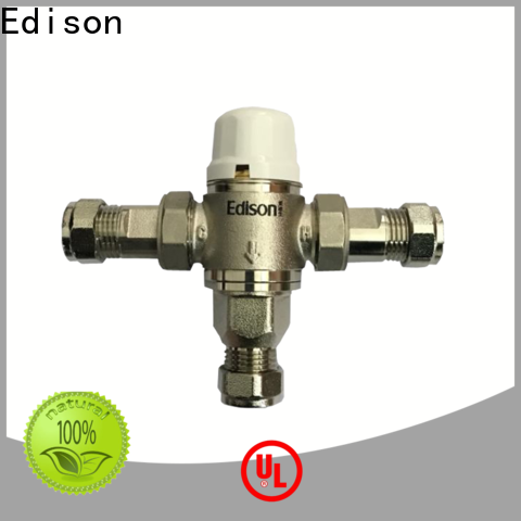 Edison high quality tempered water control valve function for shopping malls