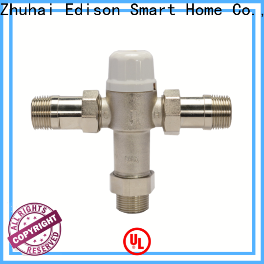 Edison thermostatic mixing valve series for hotels