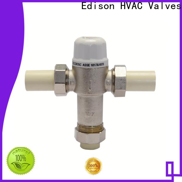 Edison function tempered valve supplier for hardware store