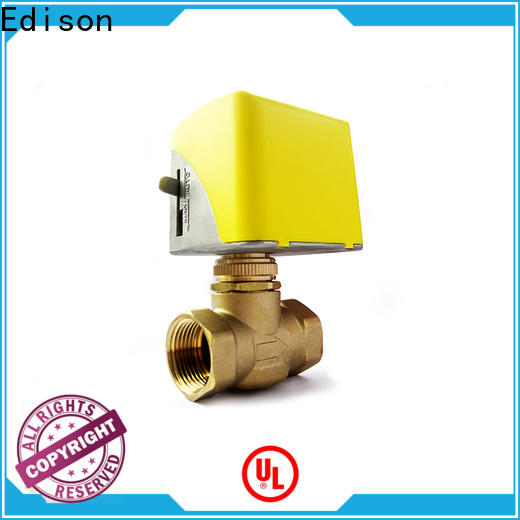 Edison cooling motorised valve series for hardware store