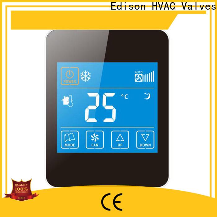 Edison thermostat hvac thermostat screen for villas