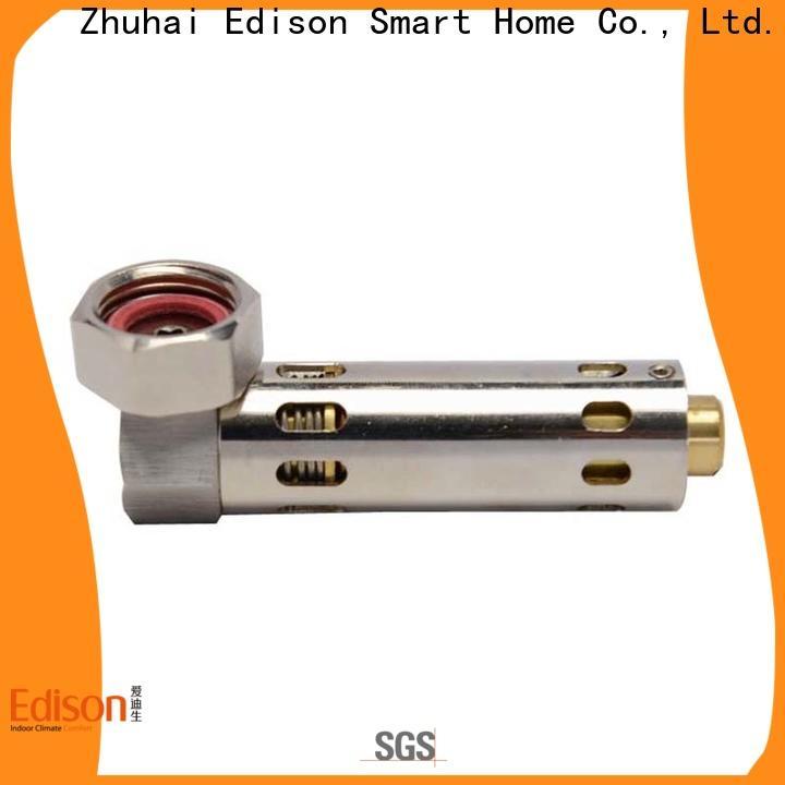 Edison limiting radiator drain valve series for shop