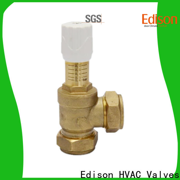 Edison high quality by-pass valve sale for industry