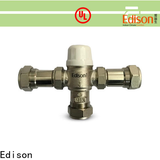 Edison pex hydronic mixing valve series for shopping malls