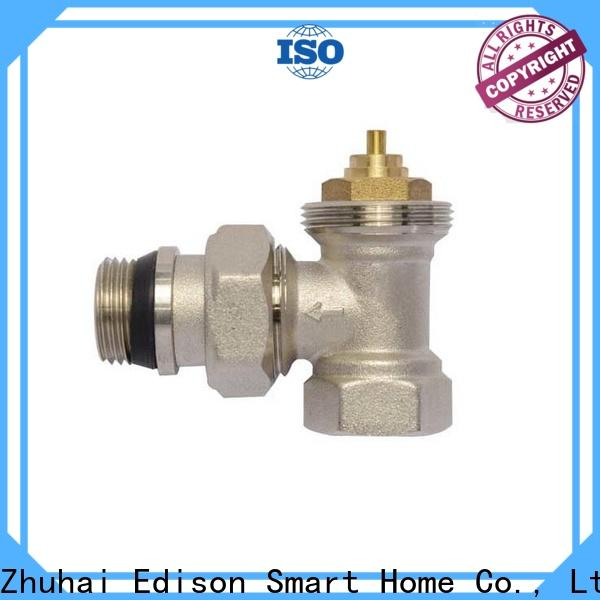 Edison durable thermostatic radiator valve supplier for apartments