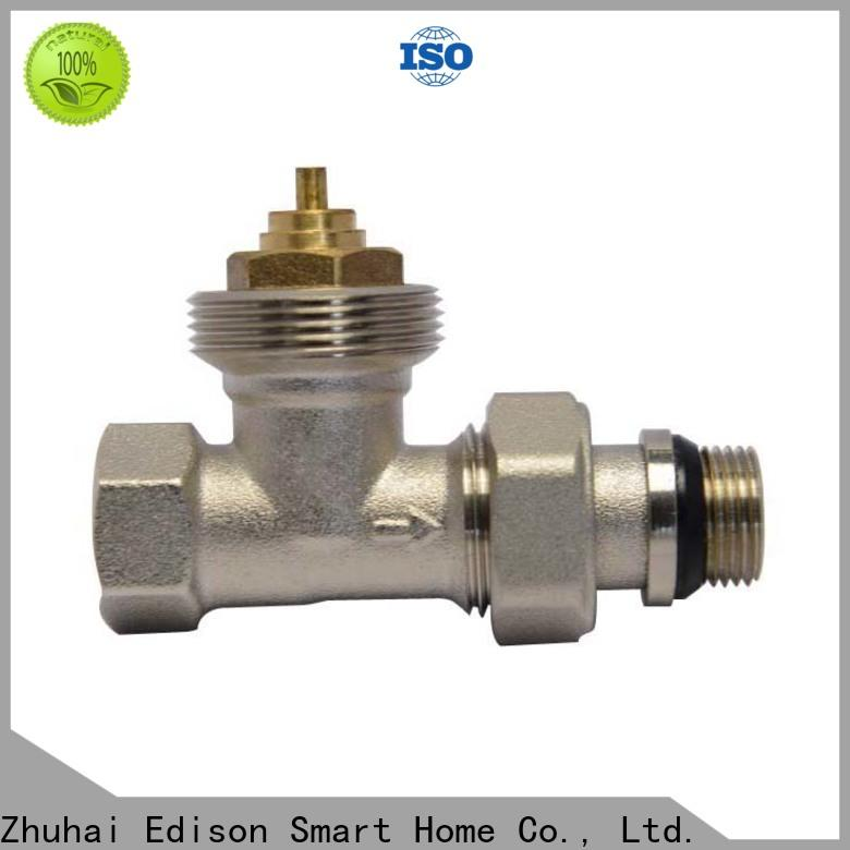 straight radiator valves twin series for apartments