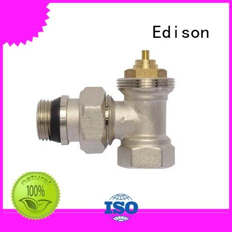 Edison knob thermostatic radiator valve head twin factory