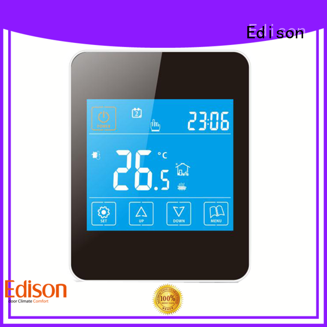 Edison electric heating thermostat manufacturer for industry