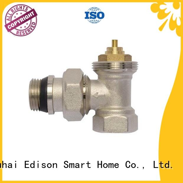 Edison valve straight radiator valves manufacturer for larger family homes