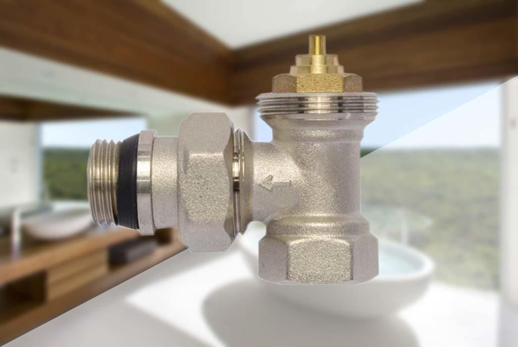 Edison twin chrome radiator valves manufacturer for larger family homes-1