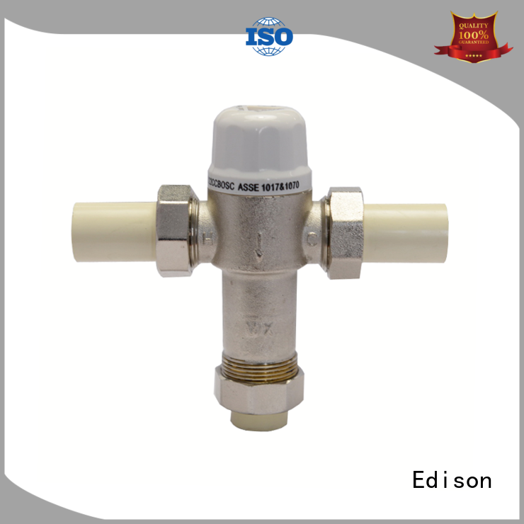 durable thermostatic valve function for hotels