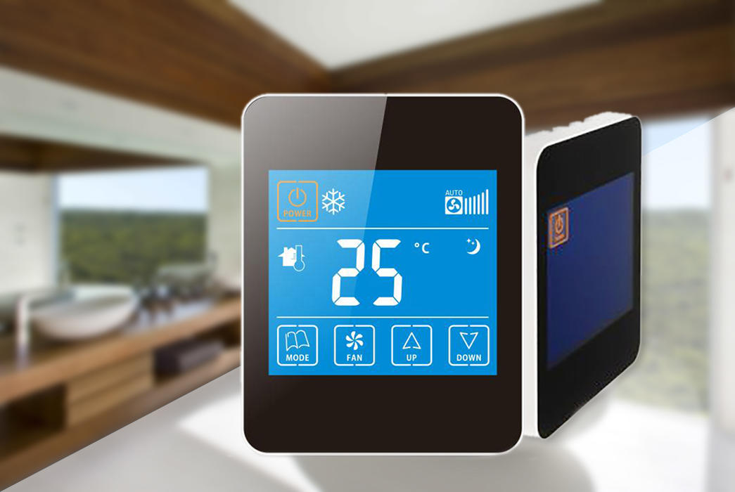 Edison touch room thermostat screen for larger family homes-1