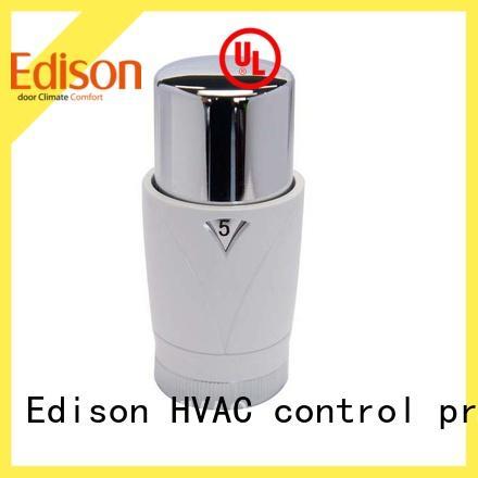 Edison straight anthracite radiator valves manufacturer for shopping malls