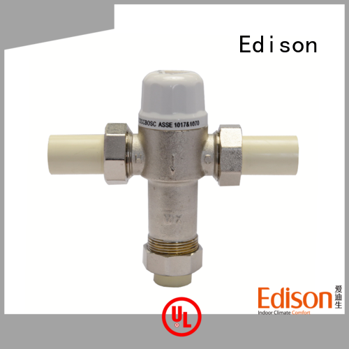 Edison online hydronic mixing valve manufacturer for shopping malls