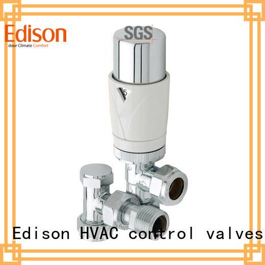 straight smart radiator valve manufacturer for shopping malls Edison