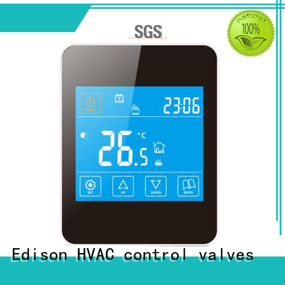 Edison thermostat heating room thermostat series for electric heating control system
