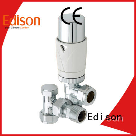 Edison thermostatic corner radiator valves wholesale for villas