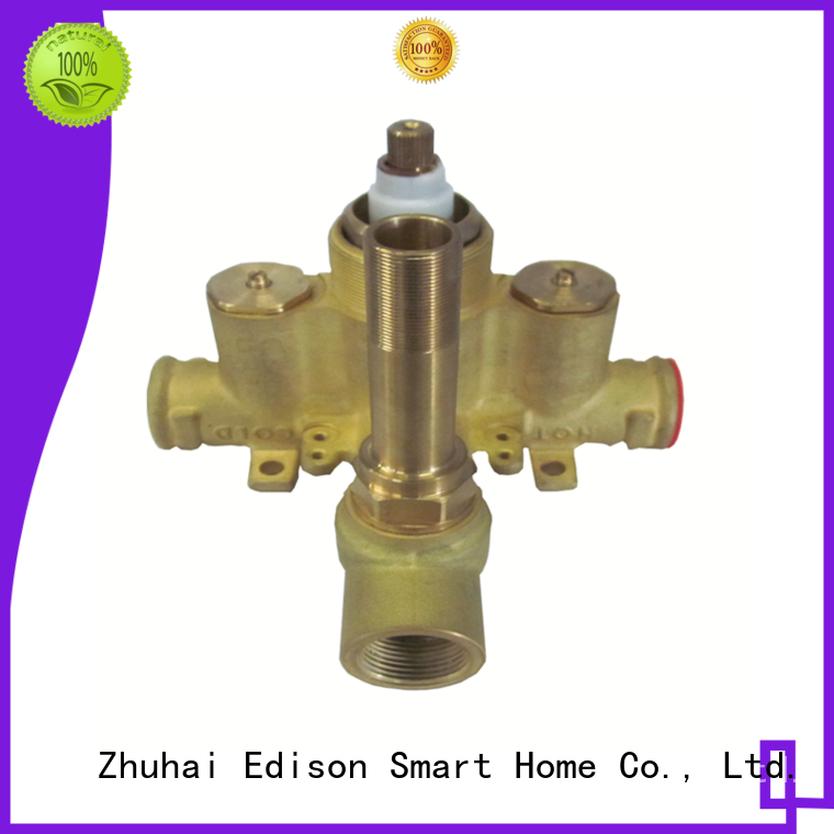 Edison thermostatic thermostatic mixing valve manufacturer for hardware store