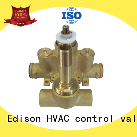 Edison tank mixing valve supplier for hotels