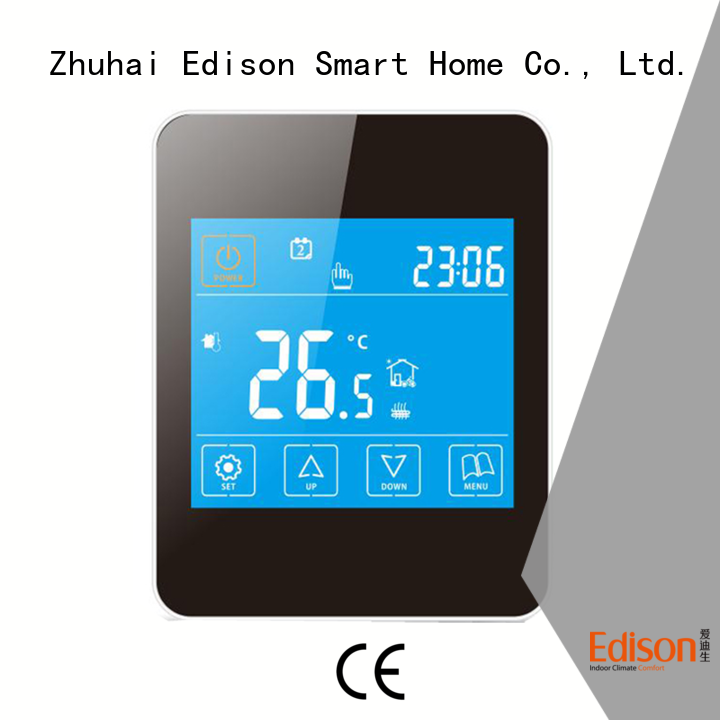 durable underfloor heating thermostat room manufacturer for electric heating control system