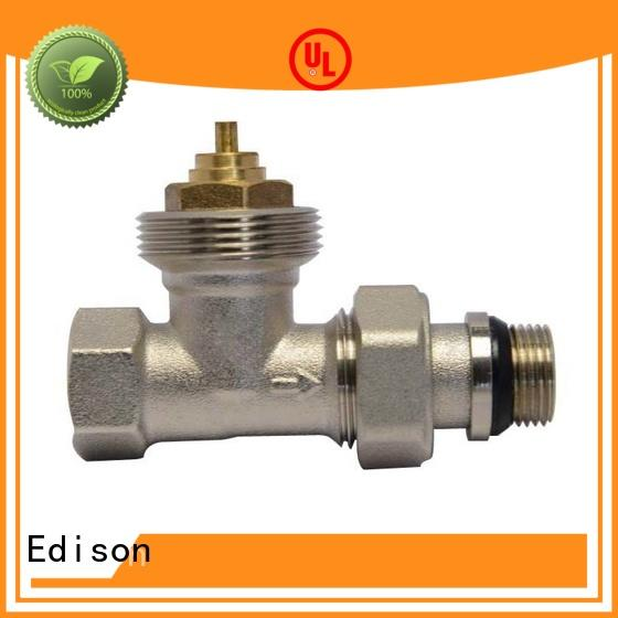 durable chrome radiator valves knob series for apartments