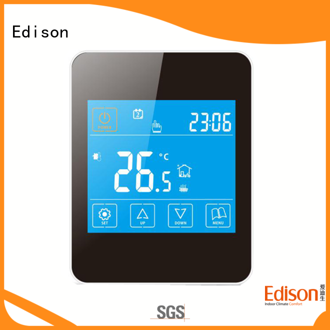 stably underfloor heating control panel supplier for electric heating control system Edison