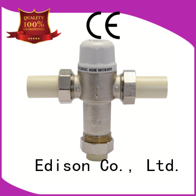 ball concealed thermostatic shower mixer valve production for shopping malls Edison