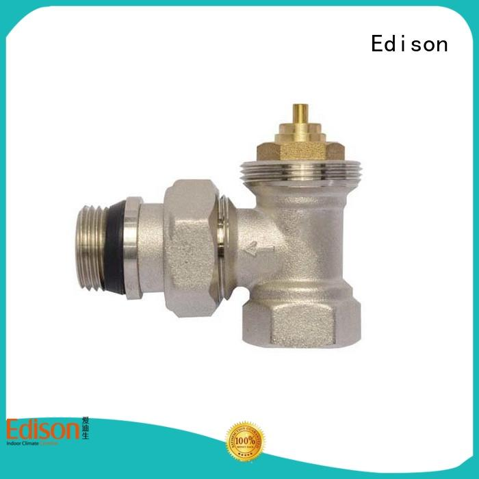 Edison straight wifi radiator valve series for villas