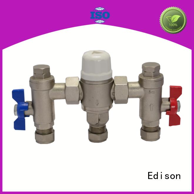 Edison durable shower thermostatic control valve mini for hardware store