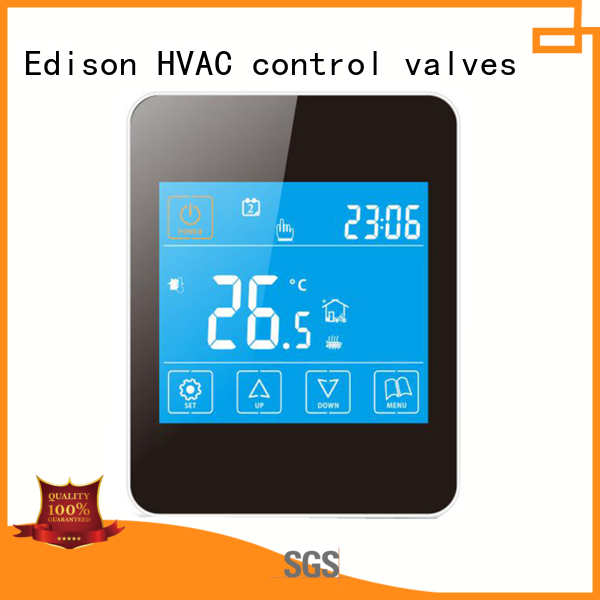 Edison online heating room thermostat wholesale for hardware store