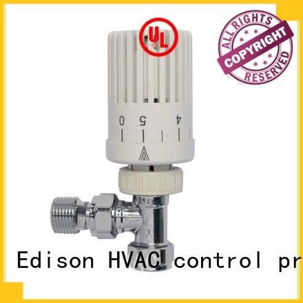 Edison thermostatic thermostatic radiator valve steam supplier for shopping malls